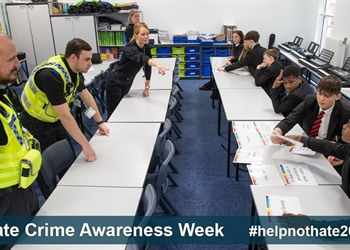 OUR SAFER RICHMONDSHIRE TEAM   SUPPORTING HATE CRIME AWARENESS WEEK