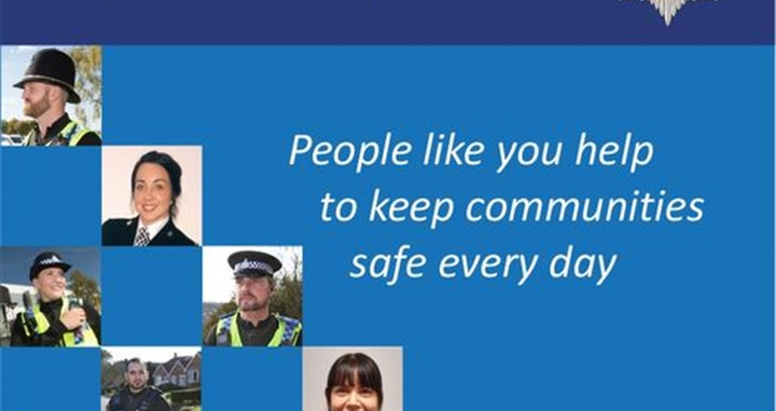 NORTH YORKSHIRE POLICE  ~  RECRUITING SPECIAL CONSTABLES
